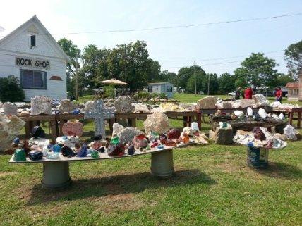 Rock Shop in Lockesburg, Arkansas